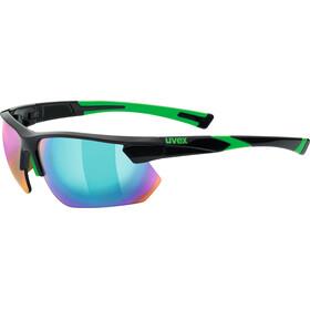 UVEX Sportstyle 221 Occhiali ciclismo verde/nero
